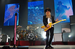 ZZ Top In Concert Royalty Free Stock Photography