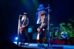 ZZ Top in Concert royalty free stock image