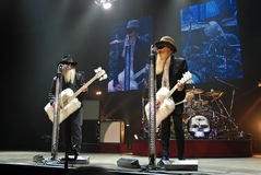 ZZ Top in Concert Royalty Free Stock Images