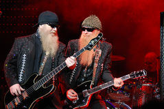 ZZ top Los Vegas Hilton 1 Royalty Free Stock Photography