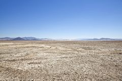 Zzyzx Dry lake Stock Image