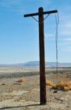 Zzyzx, stazione termale abbandonata, deserto del Mojave fotografia stock libera da diritti