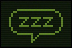 Free ZZZ LED Board Stock Photo - 32725610