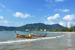 ิฺPatong Beach Phuket Thailand. Patong beach is located Phuket Thailand . White sand is good for your touch Stock Image