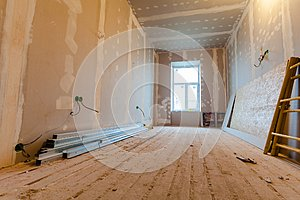 Material for repairs in an apartment is under construction, remodeling, rebuilding and renovation.