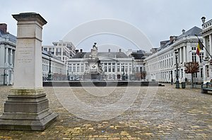 Place des Martyrs Martyrs` Square, Brussels, Belgium