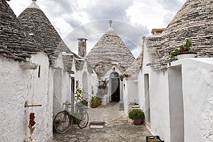 Trulli of Alberobello, a UNESCO World Heritage Site