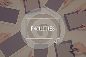 FACILITIES CONCEPT Business Concept.