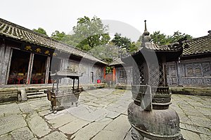 Mount Wudang, China: ancient buildings