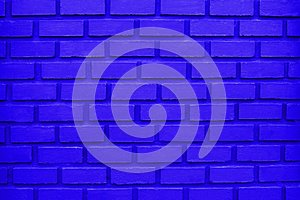 Blue Brick Wall Background/Blue Brick Wall Texture