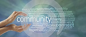 Make a Difference in Your Community Word Cloud