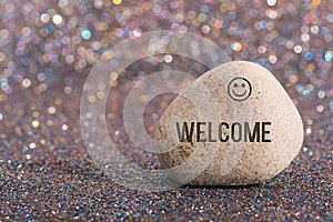 Welcome on stone