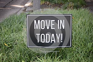 Apartment Move-In Sign