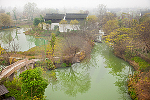 Beautiful scenics in Xixi National wetland park