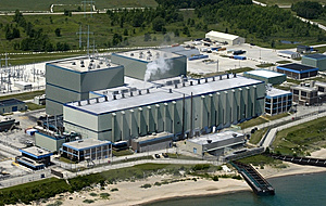 Modern Industrial Factory Plant with Aerial View