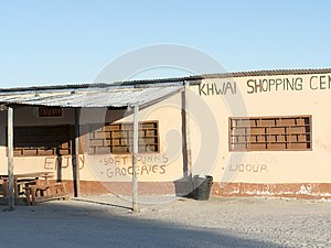 Rather grotesque supermarket, Moremi, Botswana