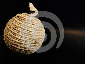 Ball made of cords