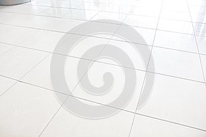 Tiles marble floor background/Floor tiles white vignette can be used as background or for interior design and exterior.