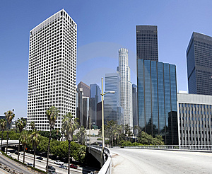 Downtown Los Angeles City Buildings