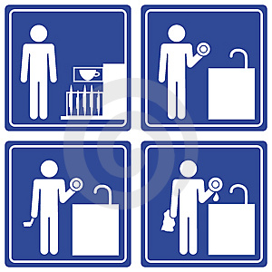 pictograph washing dishes male cover photo 13918459 timeline images. Black Bedroom Furniture Sets. Home Design Ideas