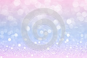 Pink blue, pink bokeh,circle abstract light background,Pink Gold shining lights, sparkling glittering Valentines day,women day or