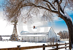 Historic Farm House in Aurora, Colorado
