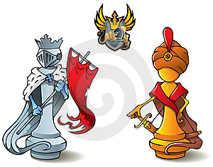 Chess set: Kings