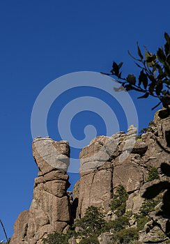 Organ Pipe Formation at the Chiricahua National Monument