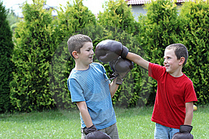 Boxing sibling