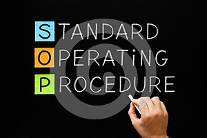 SOP Standard Operating Procedure Concept