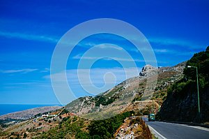 Rural Crete - Mountain Road 4