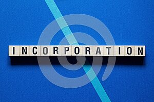 Incorporation word concept on cubes