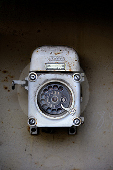 Old Telephone (rotary dial)