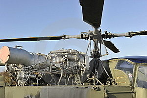 Helicopter's engine