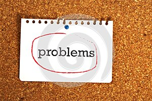 Problems on paper