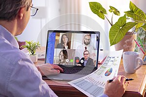 Remote Work - Video Conference Concept