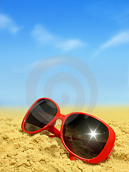 Beach and Sunglasses