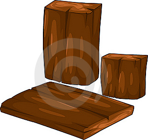 vector Collection Timber illustration