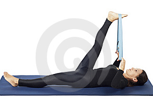 Supta Padangusthasana (Reclining Hand-to-Big-Toe)
