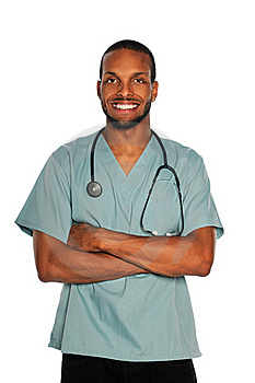 Male Doctor of Nurse