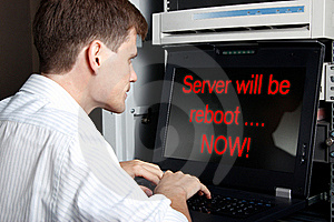 Server will be reboot.