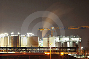 Chemical industry tanks