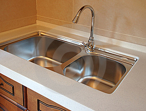 Faucet In Kitchen