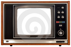 Old Color Television