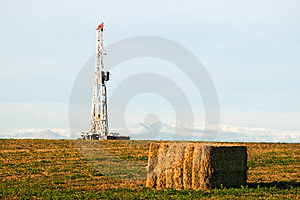 Drilling Rig East of the Rocky Mountains