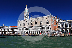 Campanile and doge palace