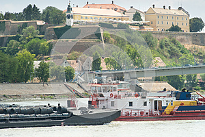 River freight traffic