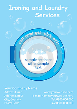 laundry flyers templates - laundry services flyer template cover photo 28141752
