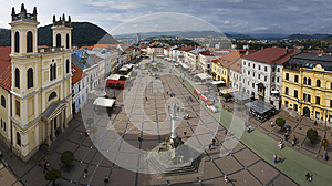 Panorama View of Banska Bystrica.