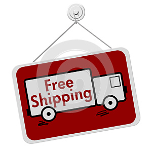 Free Shipping Sign
